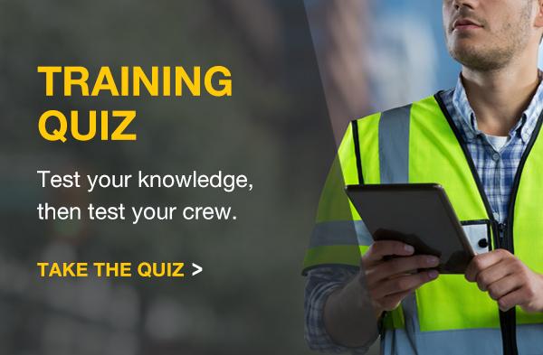 WB training quiz