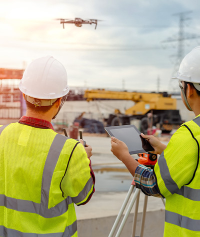 Construction Worksite Drone Safety